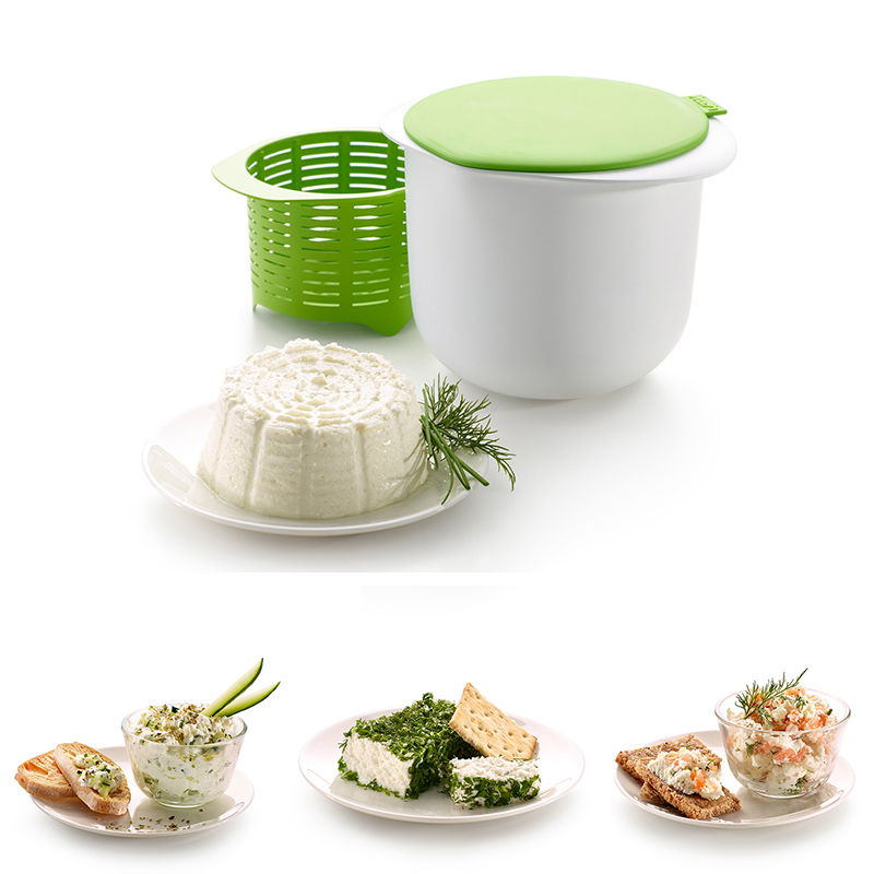 Microwave Plastic Healthy Cheese Maker for Making Cheese Pie Weights Kitchen Accessories