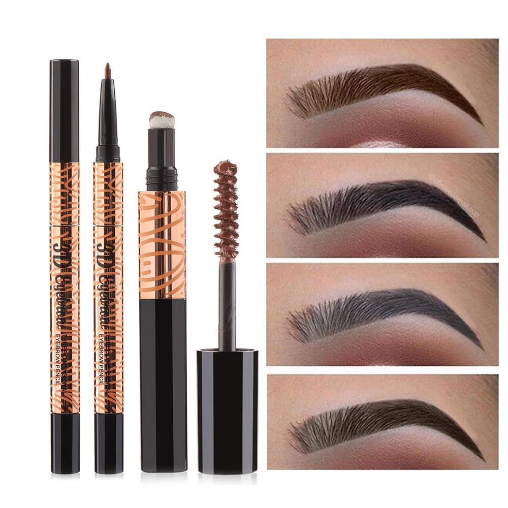Aliexpress.com : Buy Waterproof Eyebrow Pencil + Brush ...