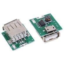 2 шт./лот Micro USB 5V Li-Ion 18650 Зарядное устройство модуль Плата DIY power Bank