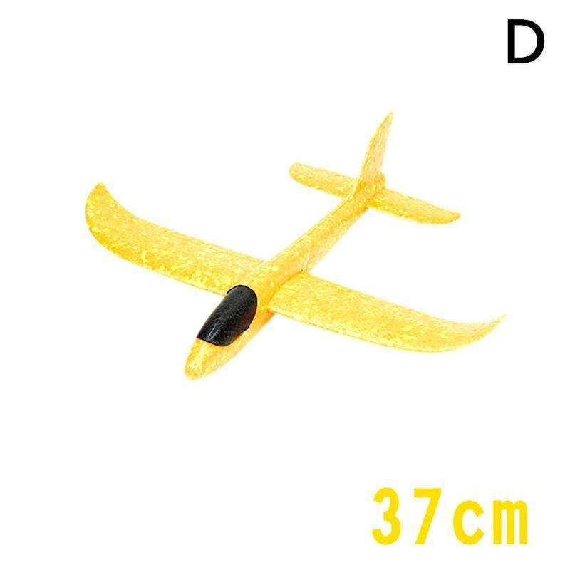 Большой 35 см ручной бросок самолет Летающий планер самолеты EPP самолет из пеноматериала модель вечерние сумки наполнители детские игрушки Открытый Запуск игра игрушка - Цвет: D