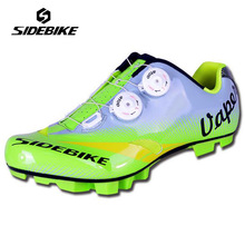 SIDEBIKE Self-locking Bike  Shoes Ride MTB Bicycle Shoes Lightweight Highway Lock cycling shoes  Ciclismo Zapatos