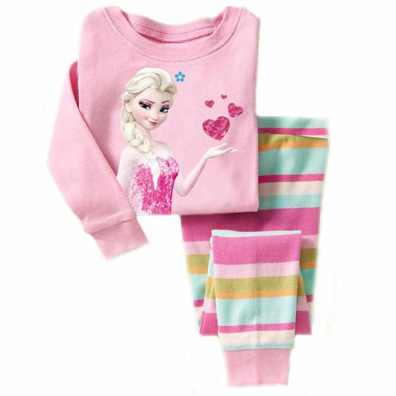 2018 Рождественский детский Супер Теплый хлопковый костюм для маленьких  девочек мальчиков олень Пижама с футболкой полосатые 8ba646ee1abbc