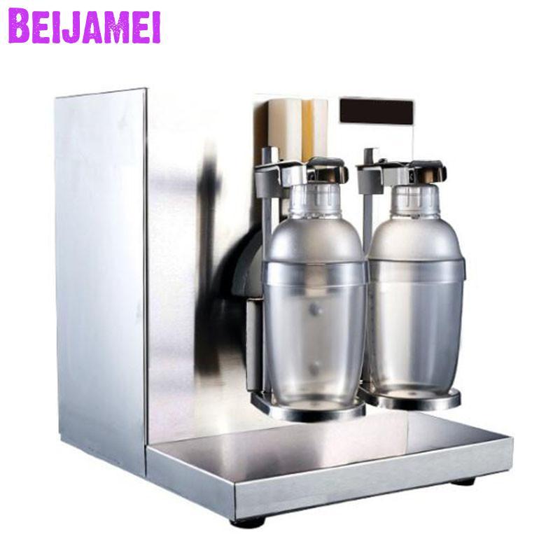 Beijamei высокая эффективность авто для чая и других напитков встряхивание молока машина коммерческий чай молоко шейкерная машина bubble tea пожим