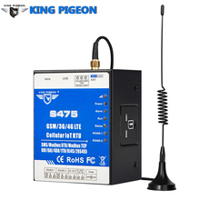 Ethernet Cellular IoT RTU Data Acquisition Monitoring System support Dual Sim card RS485 serial server Modbus Master/Slave S475