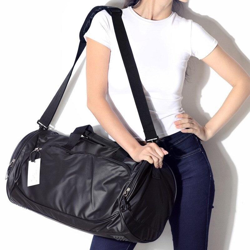 Medee Ultra-léger cylindre paquet sac pour voyager hommes et femmes imperméable pliable paquets voyage épaule Messenger sac SMB096