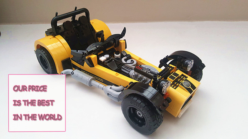 21008 771pcs The Caterham Classic 620R Racing Car Set Compatible with 21307 8612 Model Building Blocks Bricks Toy