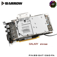Barrow RGB Full Cover Graphics Card Water Cooling Block BS GAT1060 PA For Galaxytech GTX1060