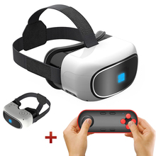 All-in-one 3D VRกล่องชุดหูฟังความเป็นจริงเสมือน5.0นิ้วTFTหน้าจอHDที่สมจริงแว่นตาWiFiบลูทูธg oogleกระดาษแข็งกรณีVrbox