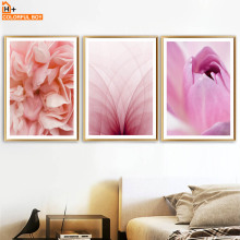 COLORFULBOY Wall Art Print Canvas Painting Flower Modern Posters And Prints Pop Pictures For Living Room Decoration