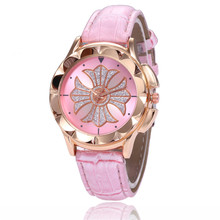 Quartz Watches gift for lovers Reloj Mujer Hot Selling Fashion Ladies WristWatch Retro Rainbow Design Women Dress Watch