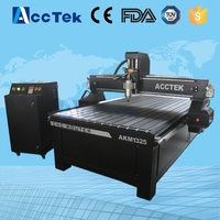 T Slot With PVC Sheet Table CNC 1325 Router Machine With 3 0 Kw Spindle