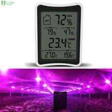 BEYLSION цифровой термометр температуры и влажности, гигрометр, электронный термометр, монитор влажности для растений, лампа для выращивания, палатка