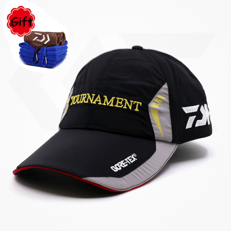 Cycling Cap Fishing Hat Adjustable Outdoor Sports Bicycle Golf Tennis Baseball Running Hat Quick Dry Caps Adult Men Sport Hat