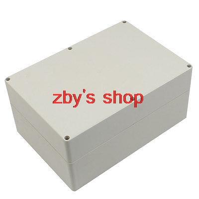 263mm x 182mm x 125mm ABS Waterproof Enclosure Case DIY Junction Box waterproof plastic enclosure case junction box 265mm x 185 mm x 115 mm l15