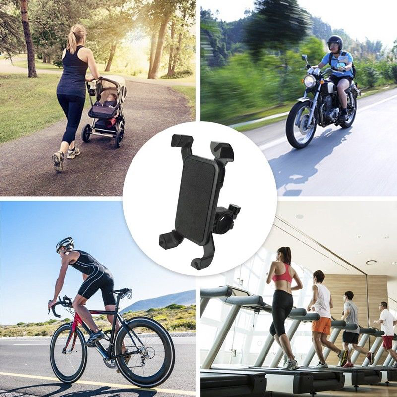 Universal Motorcycle MTB Bike Bicycle Handlebar Mount Holder for Ipod Cell Phone GPS Stand Holder for iPhone Samsung in Phone Holders Stands from Cellphones Telecommunications