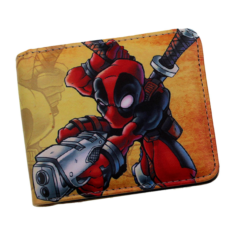 marvel wallet with coin pocket