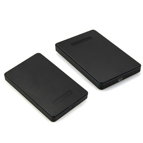 USB 3.0 2.5 Sata HDD Hard Disk Drive External Enclosure Case Box Black Portable orico 9528u3 2 bay usb3 0 sata hdd hard drive disk enclosure 5gbps superspeed aluminum 3 5 case external box tool free storage