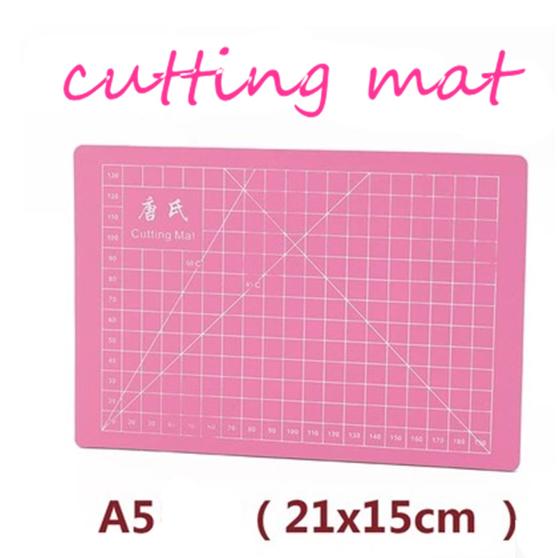 PVC A5 cutting mat single face self-healing cutting paper pad pink   handmade model  diy Accessory cutting board 21 x15cm single sided blue ccs foam pad by presta