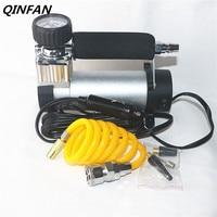 QINFAN Auto Opblaasbare Pomp Sigarettenaansteker AC 12 V Auto Bandenspanning Meting Auto Opblaasbare Bandenpomp