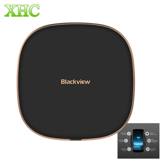Blackview W1 Wireless Charger 10W Fast Charging for iPhone 8 X Wireless Charger for Samsung for HTC for Blackview BV5800 Pro