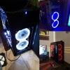 Aigo Halo Ring RGB Case Fan 140mm 3pin+4pin LED Case Fan for PC Case CPU Cooler Radiator Silent Desktop Computer Cooling Fans 6