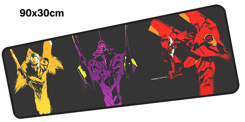 evangelion mousepad gamer 900x300X3MM gaming mouse pad large Professional notebook pc accessories laptop padmouse ergonomic mat