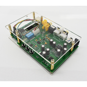 Image 5 - Lusya ES9038Q2M DSD I2S spdif dekoder kurulu amanero USB DAC ses amplifikatörü akrilik levha ile T0249