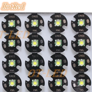 Image 3 - 2PCS CREE XML XM L T6 LED U2 10W Cold White Warm White High Power LED Emitter Diode with 12mm 14mm 16mm 20mm PCB for DIY