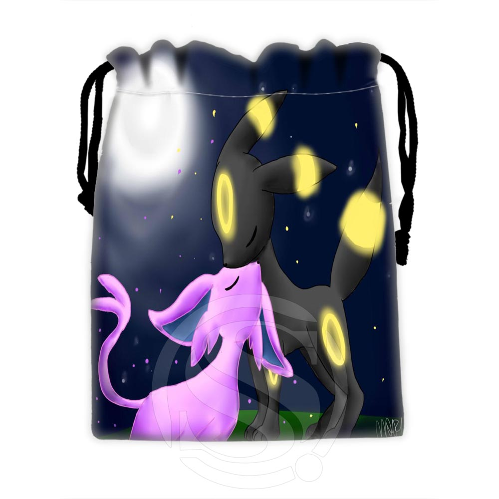 Custom Eevee #5 New Arrive Drawstring Bags For Mobile Phone Tablet PC Packaging Gift Bags18X22cm SQ00729-@H0567