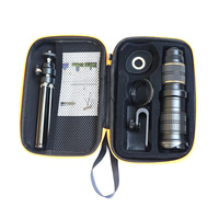 High Quality 1set Phone Photography Kit 18 30X Zoom Telephoto Lens with Tripod Clip UV Lens