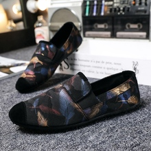 Young Casual Footwear Men Black Red Loafers Shoes Weight Light Male Walking Driver Non-Slip Tassel