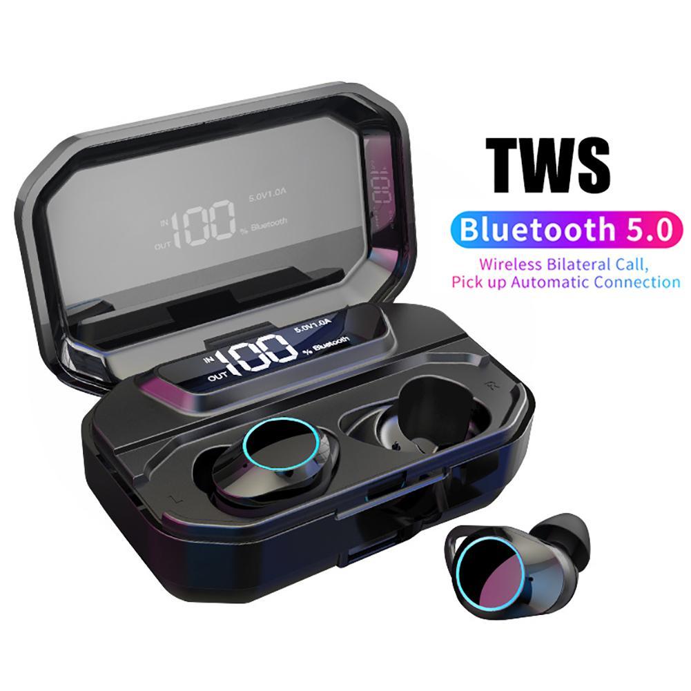 Écouteurs stéréo Bluetooth avec appel bilatéral sans fil Portable de bonne qualité