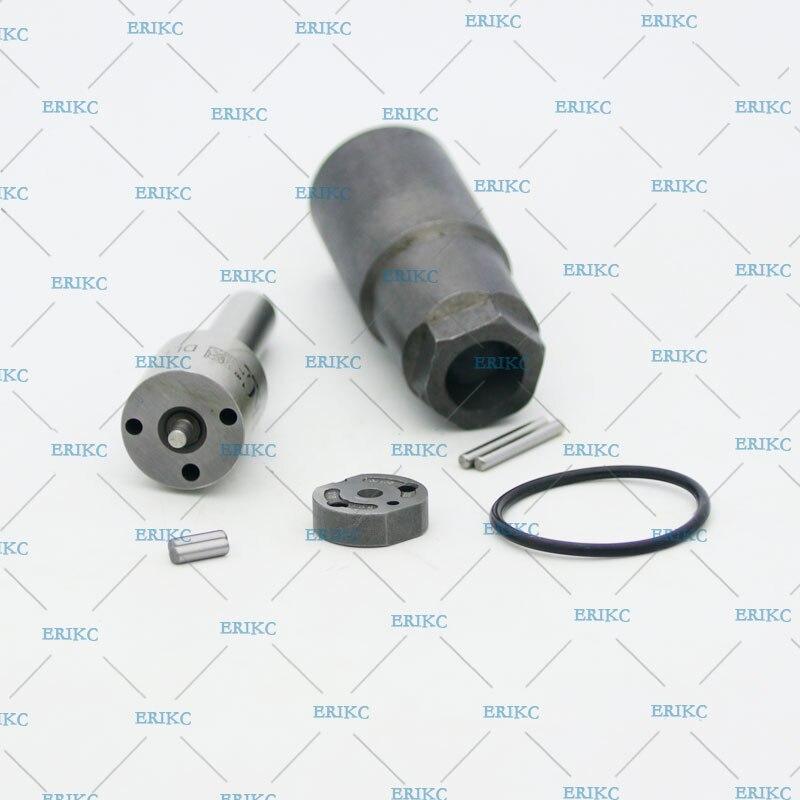 ERIKC 095000-7580 7581 Kits de réparation d'injecteur de carburant buse DLLA150P815 plaque de soupape pour Injection Toyota 095000-5420