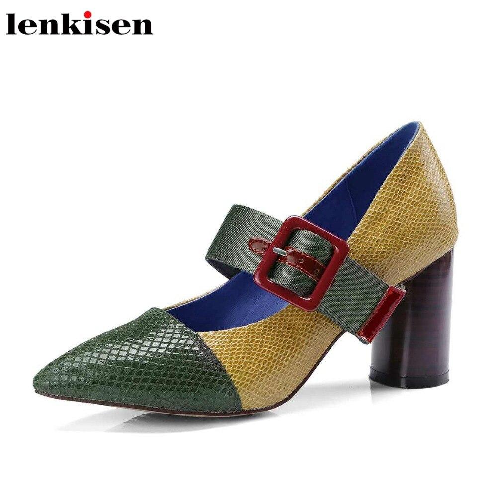 0e58872299de47 Dentelle Bout Lady Chaussures En Mariage Pointu L01 Hauts jaune Up Peu  Printemps Talons De Marque Profonde ...