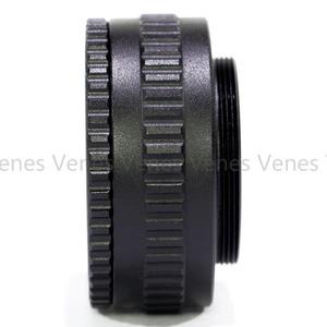 Image 3 - 2 pçs/set 25 55mm/12 19mm/M42 15 + 26.5 milímetros Adaptador de Lente /C Montar Lens M4/3 para M42 Lente Ajustável Focando Helicóide Macro Adaptador