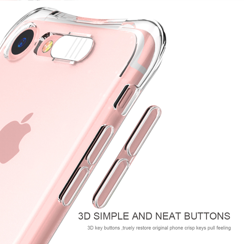 Flash TPU Case For iPhone 6 6S 7 Plus 5 5S SE YYF (5)