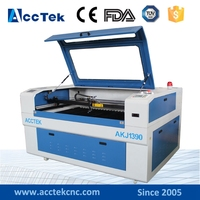 전문 이산화탄소 휴대용 레이저 조각 직물 기계  1300x900mm 나무 레이저 조각 기계 판매