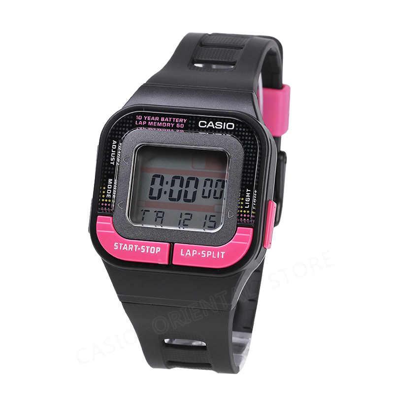 Casio שעון אופנה ספורט שעונים עמיד למים שעוני יד נשים שעון דיגיטלי משולב שרף להקת Relogio Feminino SDB-100