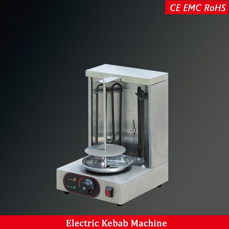 Автоматическая электрическая мини Турция doner гриль машина для приготовления шашлыка 1 горелка из нержавеющей стали шаурма делая машину
