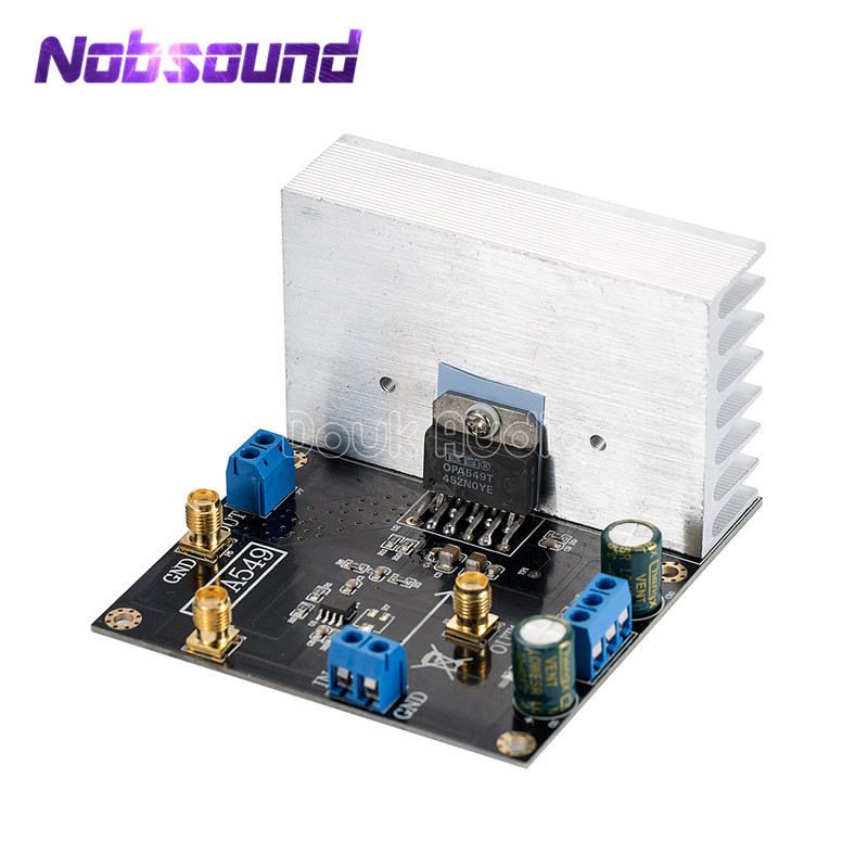 все цены на OPA549 Module Audio Power Amplifier Board Driver High-voltage High-current 8A