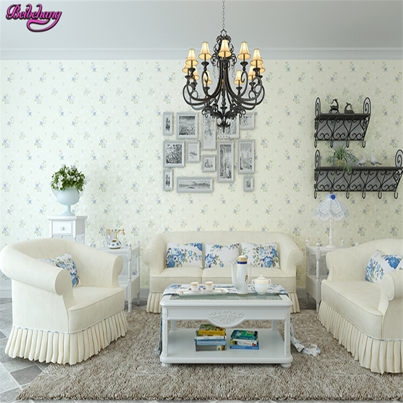 beibehang papel de parede Non woven wall paper warm pastoral vines small bedroom living room wall full wallpaper papier peint beibehang papel de parede wall paper warm living room bedroom full shop wallpaper nonwoven coining stereoscopic 3d pastoral wall