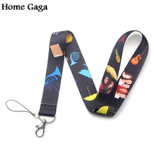 Homegaga How i met your mother keychain id lanyard webbing ribbon neck strap fabric badge phone holder necklace accessory D1681