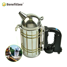 Benefitbee Beekeeping Tools Bee Smoker Electric For Beekeeper Stainless Steel Beehive Equipment M size