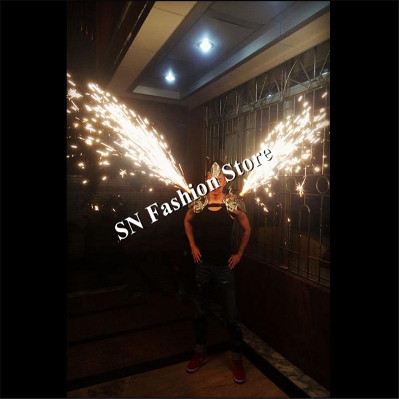 AS86 Barra de baile de plata hombro lleva cantante fiesta de fuegos - Para fiestas y celebraciones - foto 1