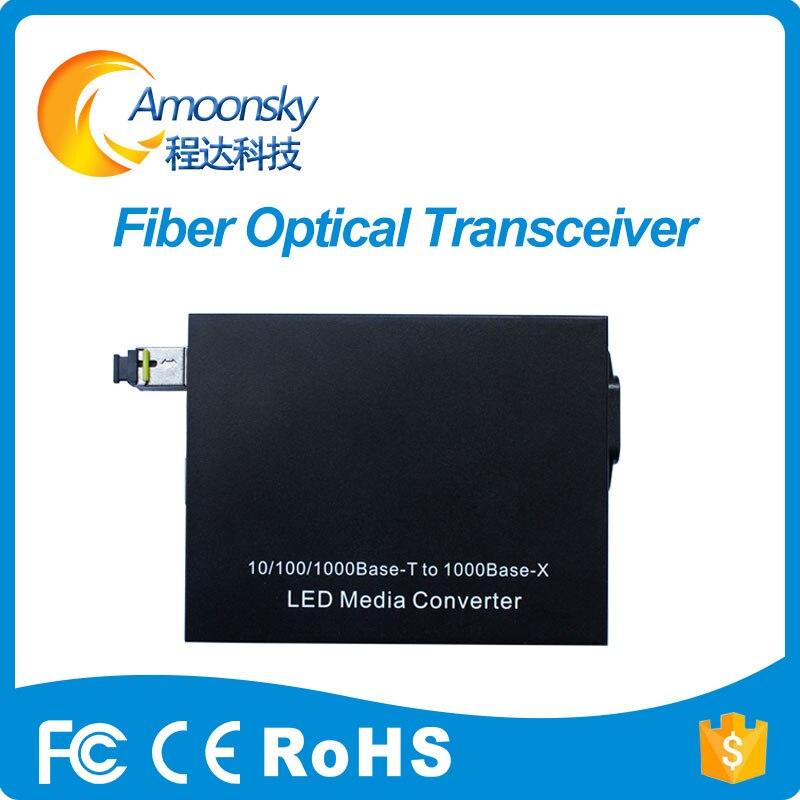Лучшая цена преобразователь Оптического волокна sc801 одномодовое волокно для полноцветный светодиодный экран