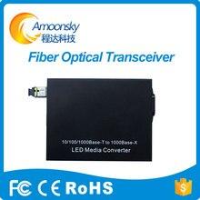 Melhor preço sc801 fibra de modo único conversor de fibra óptica para full color tela led