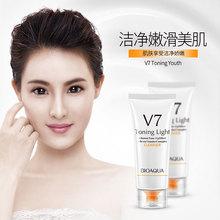 BIOAQUA Brand V7 Shuiguang Facial Cleanser Moisturzing Nourishing Whitening  Skin Care Product