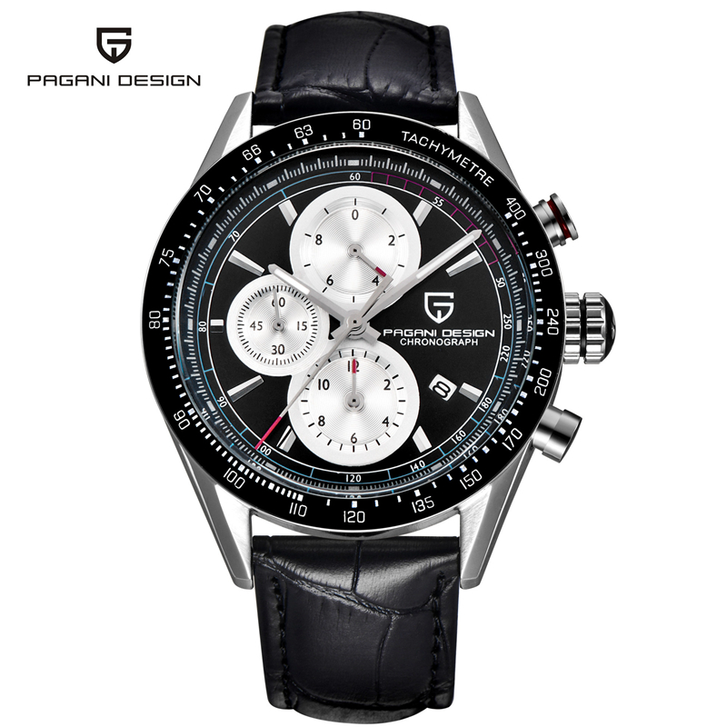 Leather Watches Men Luxury Top Brand PAGANI New Fashion Men's Designer Quartz Watch Male Wristwatch relogio masculino relojes new listing men watch luxury brand watches quartz clock fashion leather belts watch cheap sports wristwatch relogio male gift