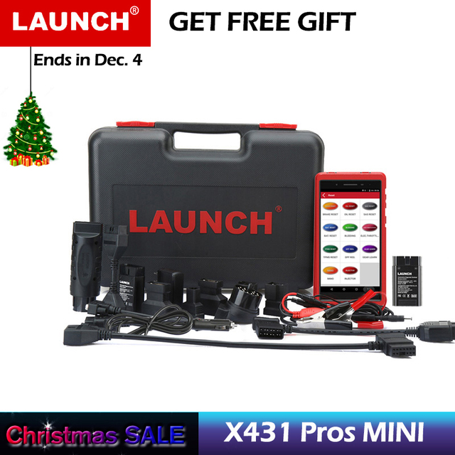 New Price Launch X431 Pros Mini Automotive Scanner All System Car Diagnostic Scan Tool Autoscanner Diagnosis Tools ECU Coding Analyzer