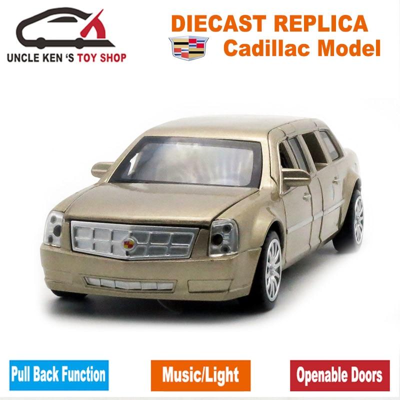 18CM Diecast Cadillac Presidential Limousine Scale Model, Metal - Bilar och fordon - Foto 2